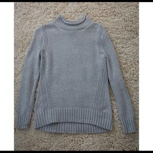 J Crew Gray Knitted Sweater